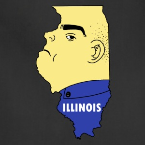A funny map of Illinois - Adjustable Apron