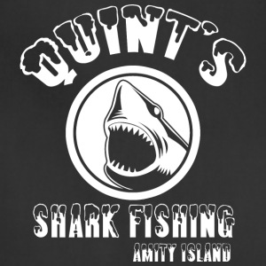 quints shark fishing amity island - Adjustable Apron