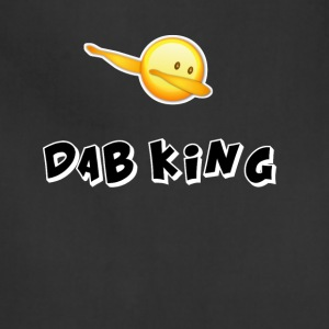 dab emojiiking dabbing football touchdown mooving - Adjustable Apron