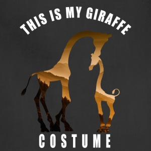 costume giraffe cute Love Dschungel hipster LOL - Adjustable Apron