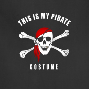 pirate costume Bones skull rede Karneval - Adjustable Apron