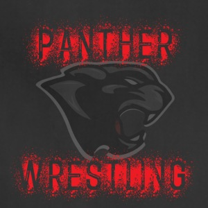 Panther Wrestling Splatter - Adjustable Apron