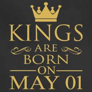 King are born on May 01 - Adjustable Apron