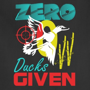 Zero Ducks Given Duck Hunt Small Game Hunting Spor - Adjustable Apron