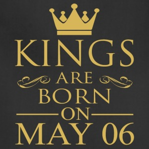 Kings are born on May 06 - Adjustable Apron