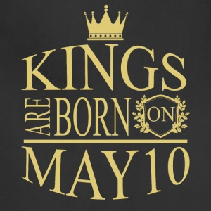 Kings are born on May 10 - Adjustable Apron