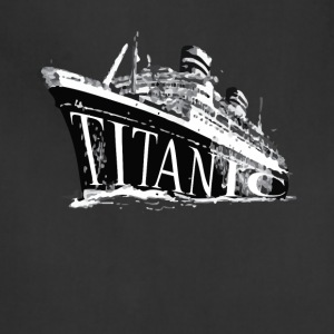 Titanic Historical Graphic Tee Shirt - Adjustable Apron