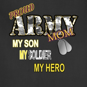 Proud Army Mom - Adjustable Apron