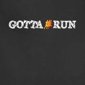 Gotta Run Cool Graphic Runner Tee Shirt - Adjustable Apron