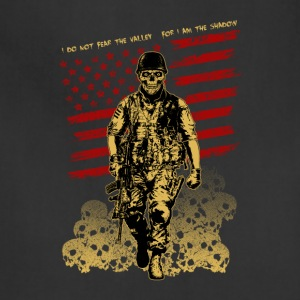 Skull Soldier - American Marine - Adjustable Apron
