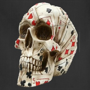 Skull poker - Adjustable Apron