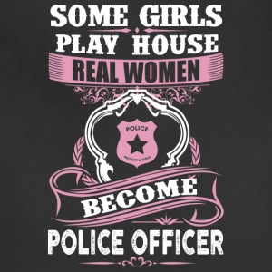 Girls Play House Real Women Become Police Officer - Adjustable Apron