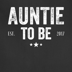 Auntie to be est 2017 - Adjustable Apron