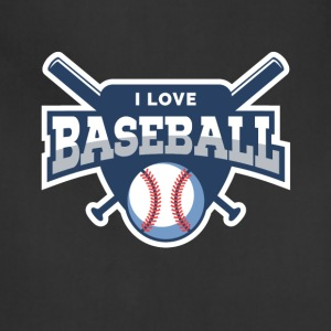 I love baseball - Adjustable Apron