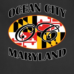 Ocean City Maryland Flag Design - Adjustable Apron