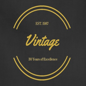 1987 Vintage Excellence - Adjustable Apron