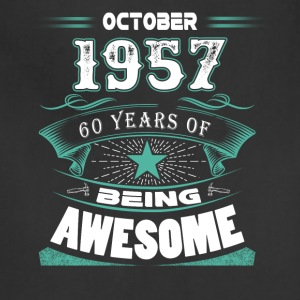 October 1957 - 60 years of being awesome - Adjustable Apron