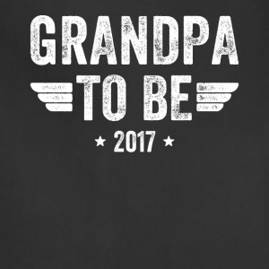 Grandpa to be 2017 - Adjustable Apron