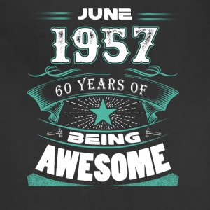 June 1957 - 60 years of being awesome - Adjustable Apron