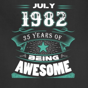 July 1982 - 35 years of being awesome - Adjustable Apron