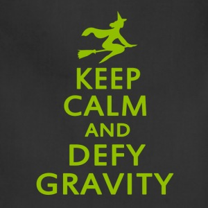 Wicked. Keep Calm And Defy Gravity. - Adjustable Apron