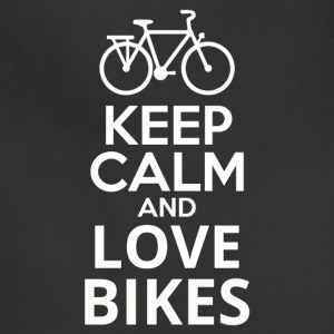 Keep Calm And Love Bikes - Adjustable Apron