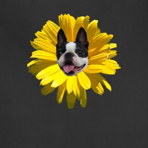 Boston Terrier Flower - Adjustable Apron