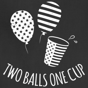 Two Balls One Cup - Adjustable Apron