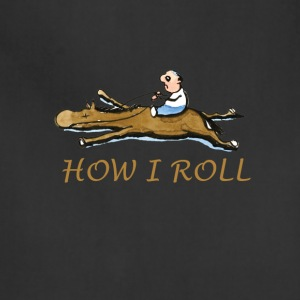how i roll - Adjustable Apron