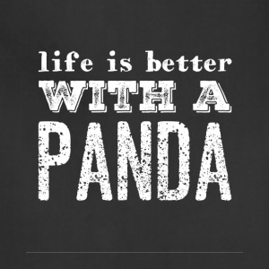Life is better with a panda - Adjustable Apron