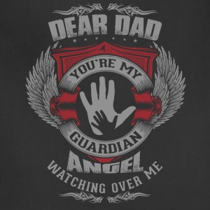 Dear Dad, You're My Guardian Angel - Adjustable Apron