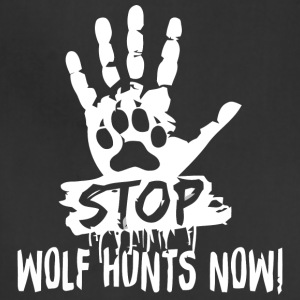 STOP WOLF HUNTS NOW - Adjustable Apron