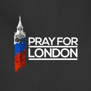 Pray For London, Big Ben England Memorial Union UK - Adjustable Apron