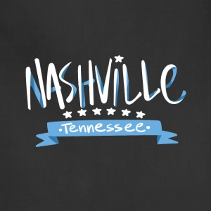 Tennessee Nashville, The Place To Be U.S T-Shirt - Adjustable Apron