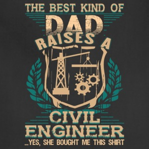 Civil Engineer T Shirt - Adjustable Apron