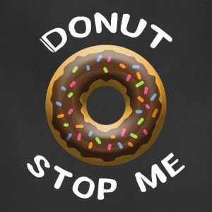 donut stop me - Adjustable Apron