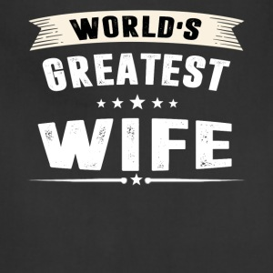 World s Greatest WIFE - Adjustable Apron