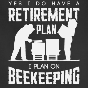 I Plan On Beekeeping T Shirt - Adjustable Apron