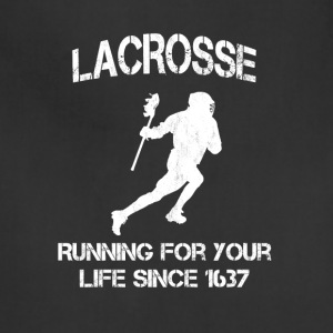 Lacrosse - Running for your life since 1637 - Adjustable Apron