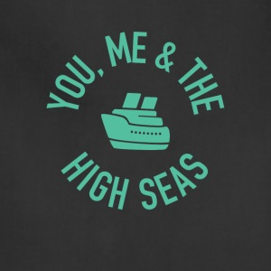 You, Me and the High Seas Cruise T-shirt - Adjustable Apron