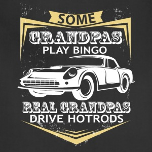 Grandpas Play Bingo T Shirt - Adjustable Apron