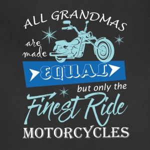 The Finest Ride Motorcycles T Shirt - Adjustable Apron