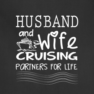 Husband And Wife Cruising T Shirt - Adjustable Apron
