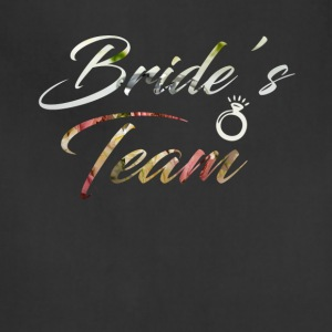 Bride's Team T-Shirt - Adjustable Apron