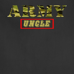 Army Uncle - Proud Army Uncle T-Shirt - Adjustable Apron