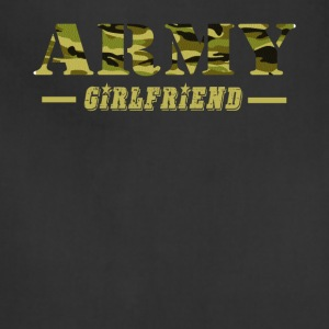 Army Girlfriend - Proud Army Girlfriend T-Shirt - Adjustable Apron