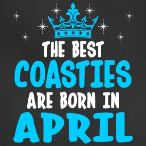 The Best Coasties Are Born In April - Adjustable Apron