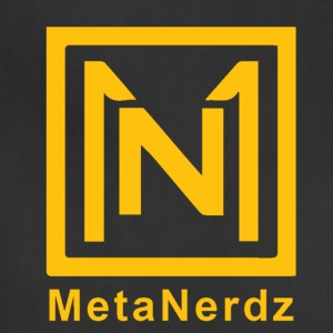 MetaNerdz Logo with Yellow Words - Adjustable Apron