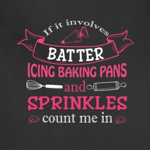 Batter Icing Baking Pans And Sprinkles T Shirt - Adjustable Apron