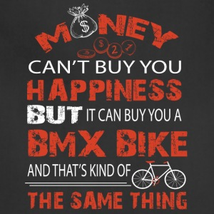 It Can Buy You A BMX Bike T Shirt - Adjustable Apron